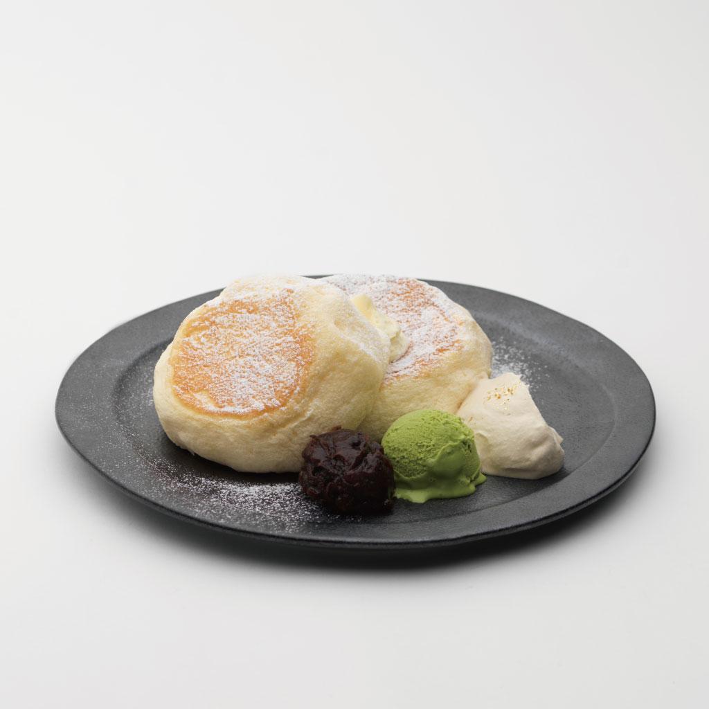 能登大納言あずきの米粉パンケーキ<br><span>Noto Dainagon Azuki Rice Flour Pancakes</span><br>¥1200
